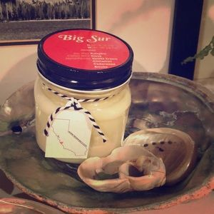 Other - Big Sur Candle - Soy Wax - Hand Poured - Mason Jar